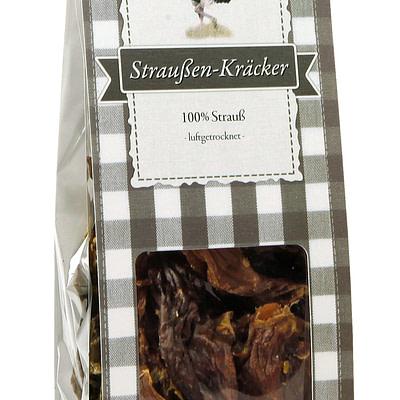 Straussen Kraecker 150g Pepper Paws Pepper Paws